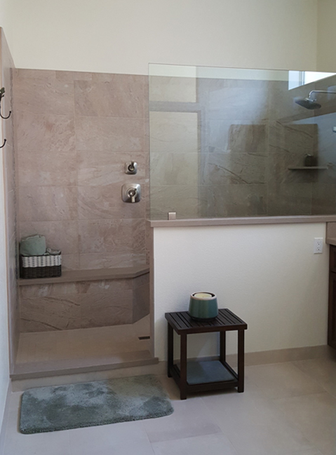 After-Master Bath Remodel